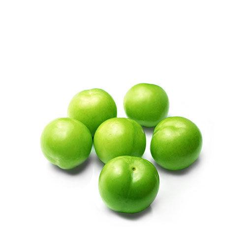 تصویر گوجه سبز